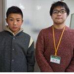 2021春 中学3年 高辻暖心さん 森田先生
