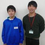 2021春 中学3年 和田大成さん 大橋先生