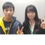 2021春 中学2年 川島大空さん 米村先生