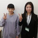 2021春 中学2年 寺林里桜さん 小倉先生