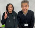 2021春 中学2年 鳥居千夏さん 田崎先生