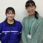 2021春 中学2年 岩本優愛さん 宇根先生