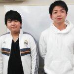 2021春 中学2年 延原庵さん 吉田先生