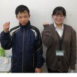 2021春 中学2年 稲垣勇磨さん 河田先生