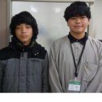 2021春 中学3年 石田合瑠さん 川上先生
