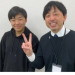 2021夏 中学3年 石井竣介さん 服部先生