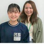2021夏 中学2年 中口寧々さん 松田先生