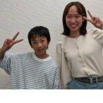 2021夏 中学2年 定塚凛さん 坂先生