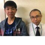 2021夏 中学2年 稲田翔多さん 廣田先生