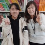 2021夏 中学2年 横山千夏さん 福村先生