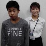 2021夏 中学3年 豊田陸斗さん 小栗先生