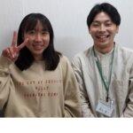 2021夏 中学3年 松本陽奈さん 鈴木先生