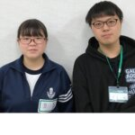 2021夏 中学3年 泉谷咲菜さん 八幡先生