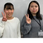 2021夏 中学2年 福井璃子さん 橋口先生