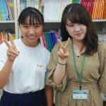 2021夏 中学3年 音田夢来さん 媚山先生