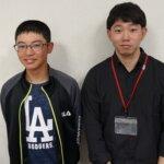 2021夏 中学2年 長田倖太朗さん 植村先生
