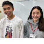 2021夏 中学3年 築池大和さん 松浦先生