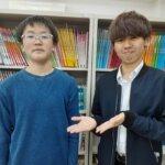 2021夏 中学3年 桶屋武斗さん 山本陸先生