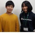 2021夏 中学3年 広岡凰雅さん 板東先生