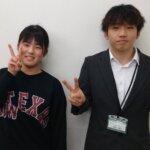 2021夏 高校3年 松田京華さん 飯野先生