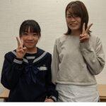 2021夏 中学2年 藤田みゆさん 中林先生
