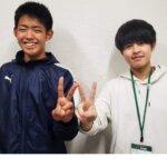 2021夏 中学3年 井上暖大さん 井村先生